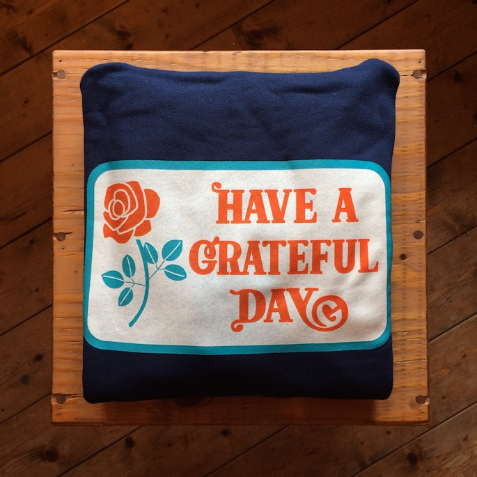 GOWEST HAVE A GRATEFUL DAY PULLOVER HOODIE 通販 FARMHOUSE京都