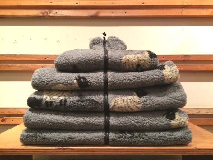 FARFIELD SHEEP & DOG FLEECE JACKET GREY 取扱店 FARMHOUSE京都