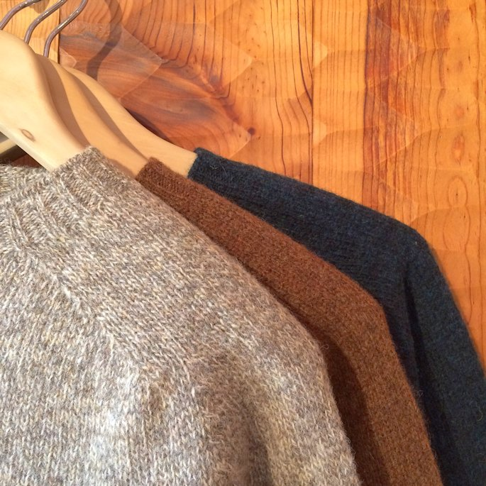 HARLEY OF SCOTLAND KNIT MUSHROOM 取扱店 FARMHOUSE京都