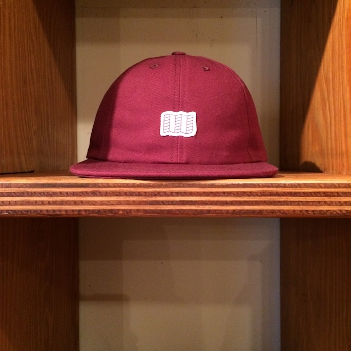 TOPO DESIGNS MINI MAP HAT MADE IN USA BURGUNDY 取扱店 FARMHOUSE京都