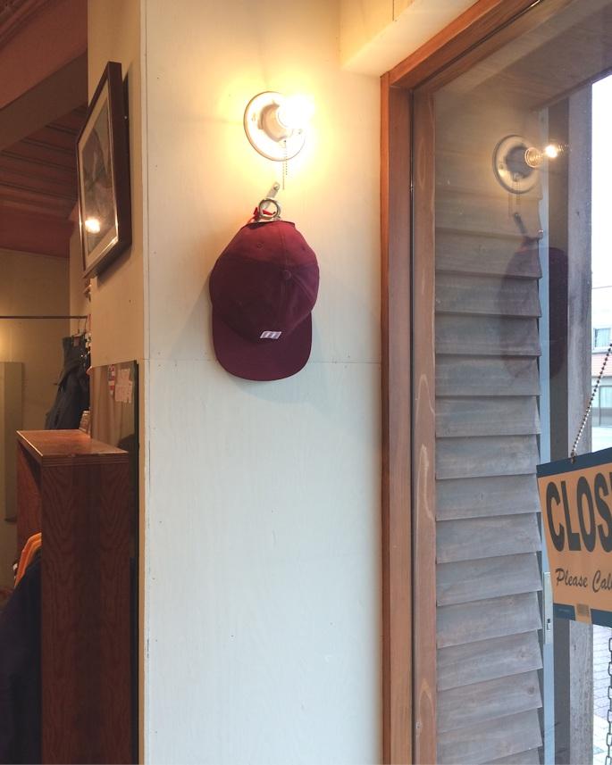 TOPO DESIGNS MINI MAP HAT MADE IN USA BURGUNDY 取扱店 FARMHOUSE京都