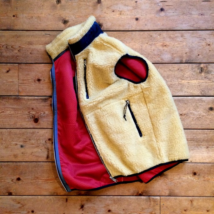 OREGONIAN OUTFITTERS TILAMOOK FLEECE VEST 別注 MADE IN USA FARMHOUSE京都
