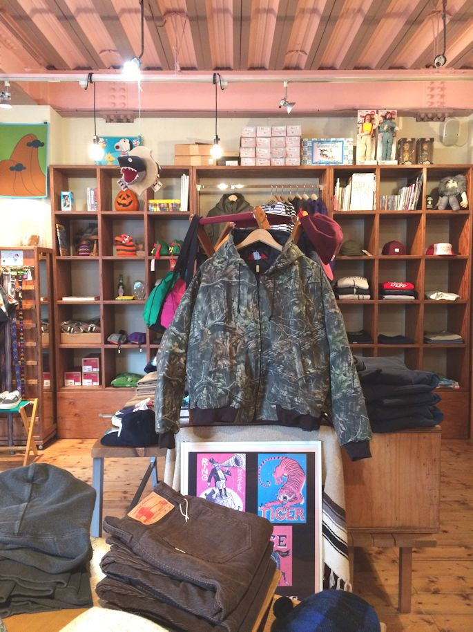 ASW SUPERFLAUGE HUNTERS CAMO GAME HOODED JACKET MADE IN USA FARMHOUSE京都