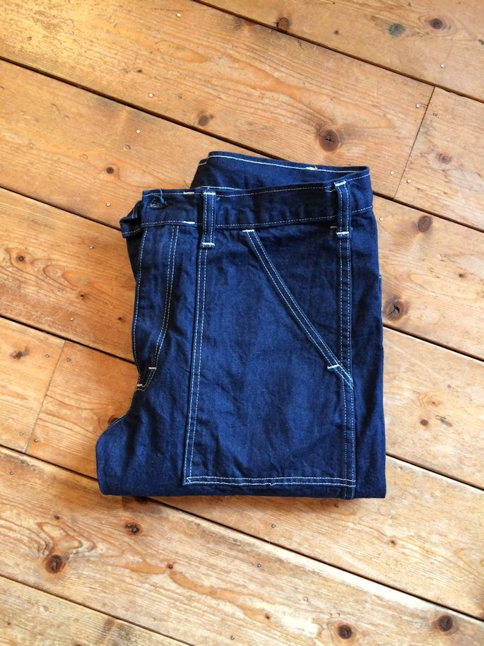 FARMHOUSE別注 EARLS APPAREL DENIM SLIM FIT FATIGUE PANTS MADE IN USA