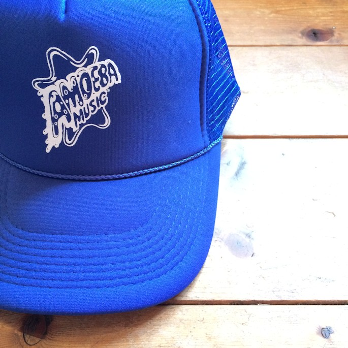 AMOEBA MUSIC SOUVENIR MESH CAP FARMHOUSE京都