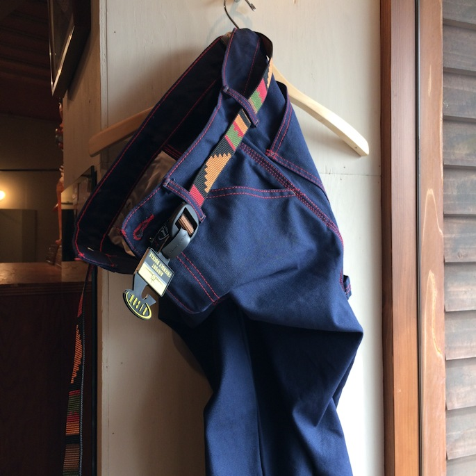 DEAD STOCK BLUE BEAR RED STITCH PAINTER PANTS MADE IN USA FARMHOUSE京都