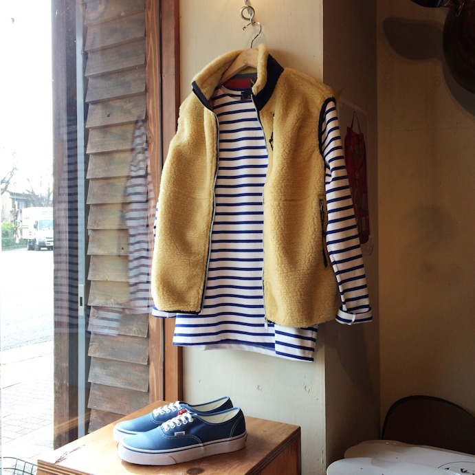 OREGONIAN OUTFITTERS TILAMOOK FLEECE VEST MADE IN USA 取扱店 FARMHOUSE京都