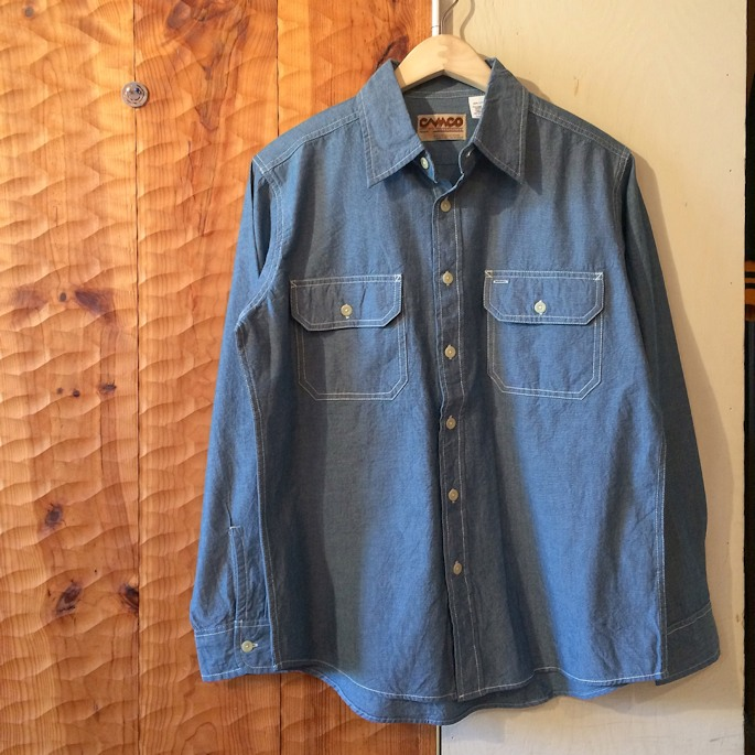 CAMCO CHAMBRAY SHIRTS BLUE FARMHOUSE京都