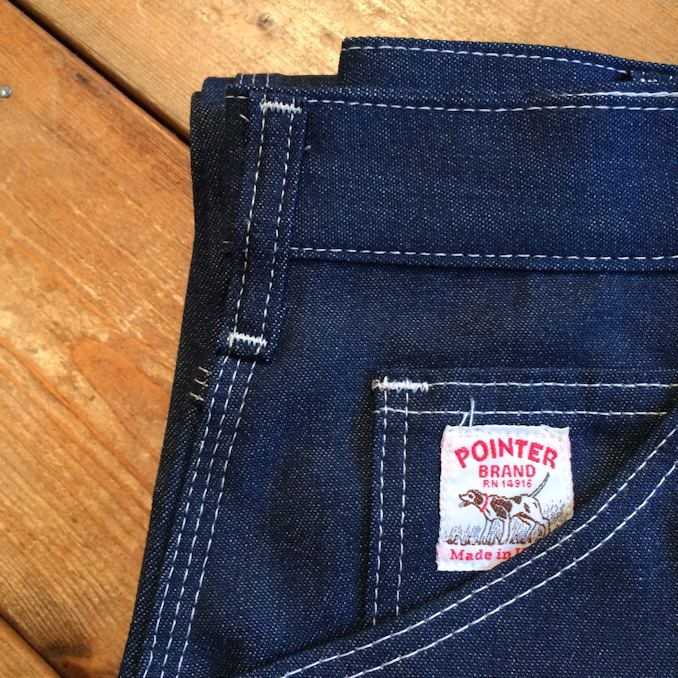 POINTER BRAND DENIM PAINTER PANTS MADE IN USA FARMHOUSE京都