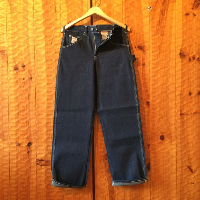 DEAD STOCK POINTER BRAND DENIM PAINTER PANTS MADE IN USA FARMHOUSE京都