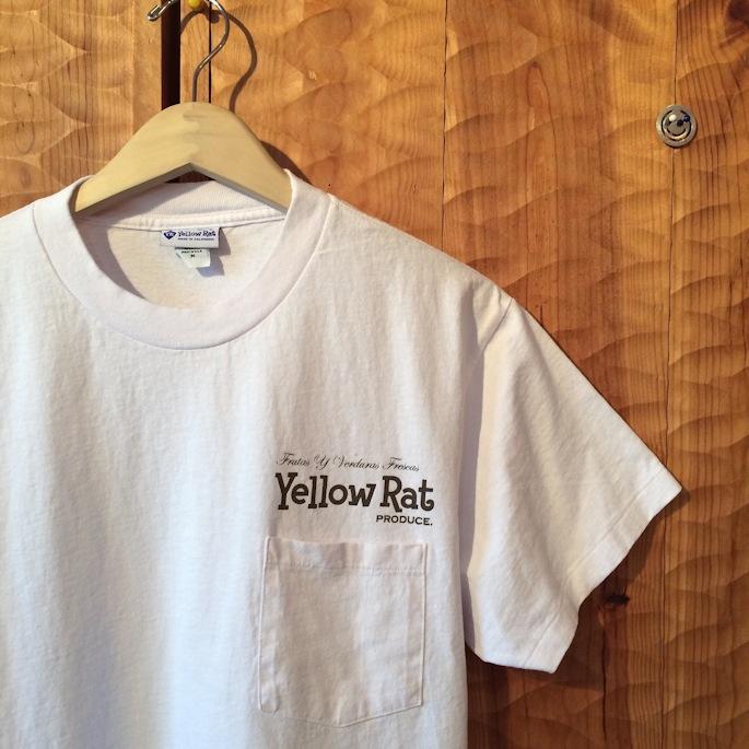 YELLOW RAT JAPANESE EGGPLANT TEE 取扱店 FARMHOUSE京都