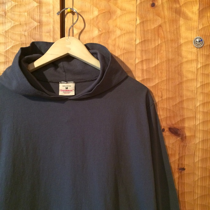 GOOD WEAR PULLOVER HOODIE MADE IN USA USED BLACK 取扱店 FARMHOUSE京都