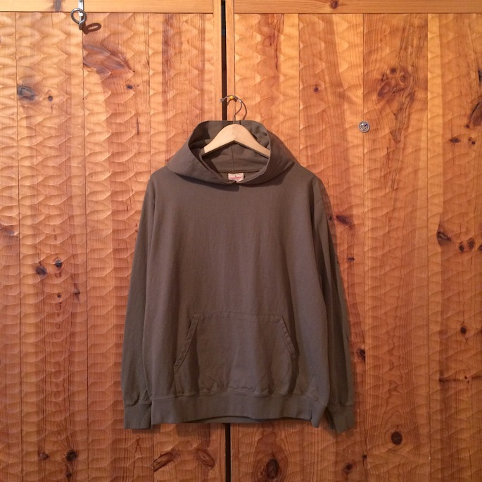 GOOD WEAR PULLOVER HOODIE GREYSH BROWN OXFORD GREY USED BLACK MADE IN USA 取扱店 FARMHOUSE京都