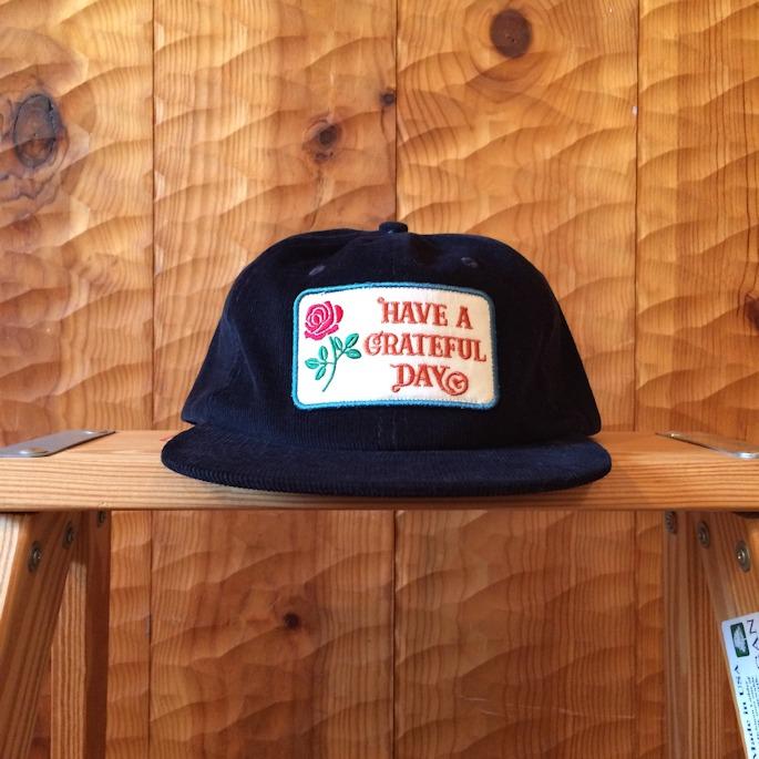 GOWEST HAVE A GRATEFUL DAY CORDUROY CAP 取扱店 FARMHOUSE京都