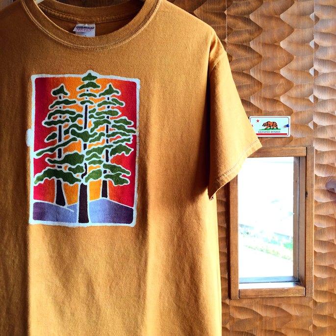 ATOMIC SPORTS WEAR BATIK TREE TEE FARMHOUSE京都
