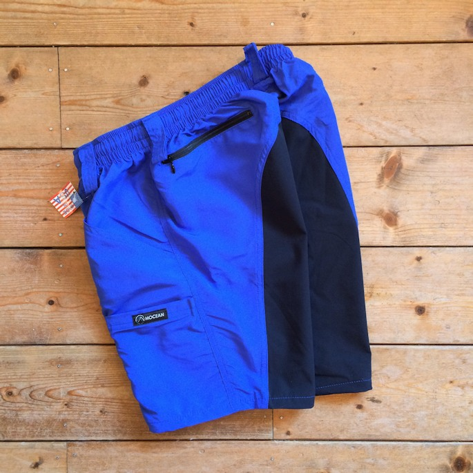 FARMHOUSE別注 MOCEAN VELOCITY SHORTS ROYALxNAVY MADE IN USA
