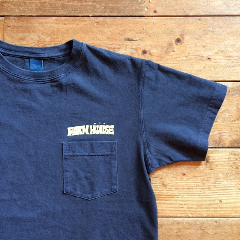 FARMHOUSE ORIGINAL GOOD ON POCKET TEE ANDY DAVIS MADE IN USA