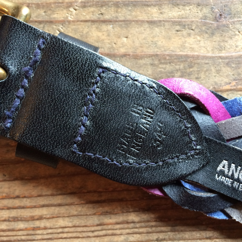 ANGLO LEATHER ZIG ZUG MULTI BELT 通販 FARMHOUSE京都