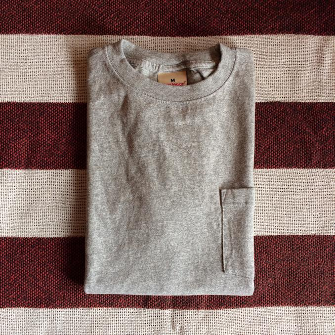 GOOD WEAR S/S POCKET TEE VINTAGE HEATHER MADE IN USA 通販 FARMHOUSE京都