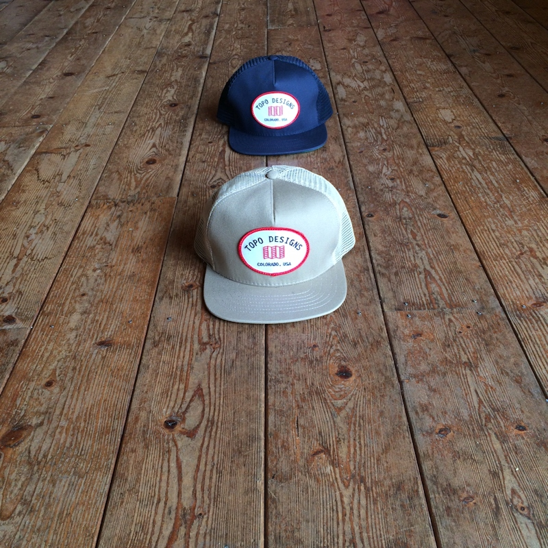 TOPO DESIGNS SNAPBACK HAT MADE IN USA 通販 FARMHOUSE京都