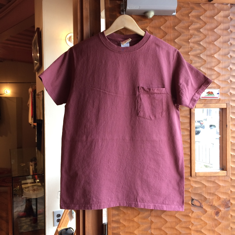 GOOD WEAR POCKET SMOKY ROSE TEE MADE IN USA 通販 FARMHOUSE京都