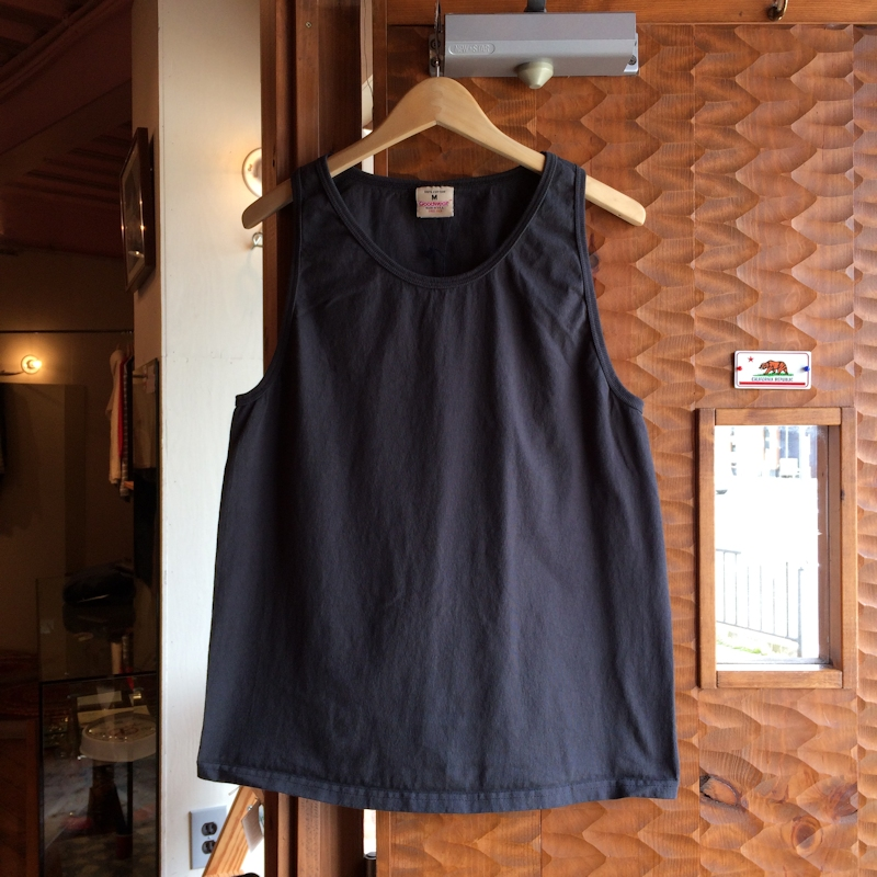 GOOD WEAR TANK TOP USED BLACK MADE IN USA 通販 FARMHOUSE京都
