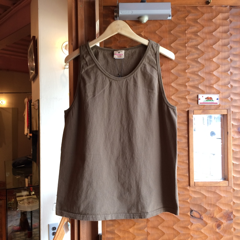 GOOD WEAR TANK TOP GREYSH BROWN USED BLACK MADE IN USA 通販 FARMHOUSE京都
