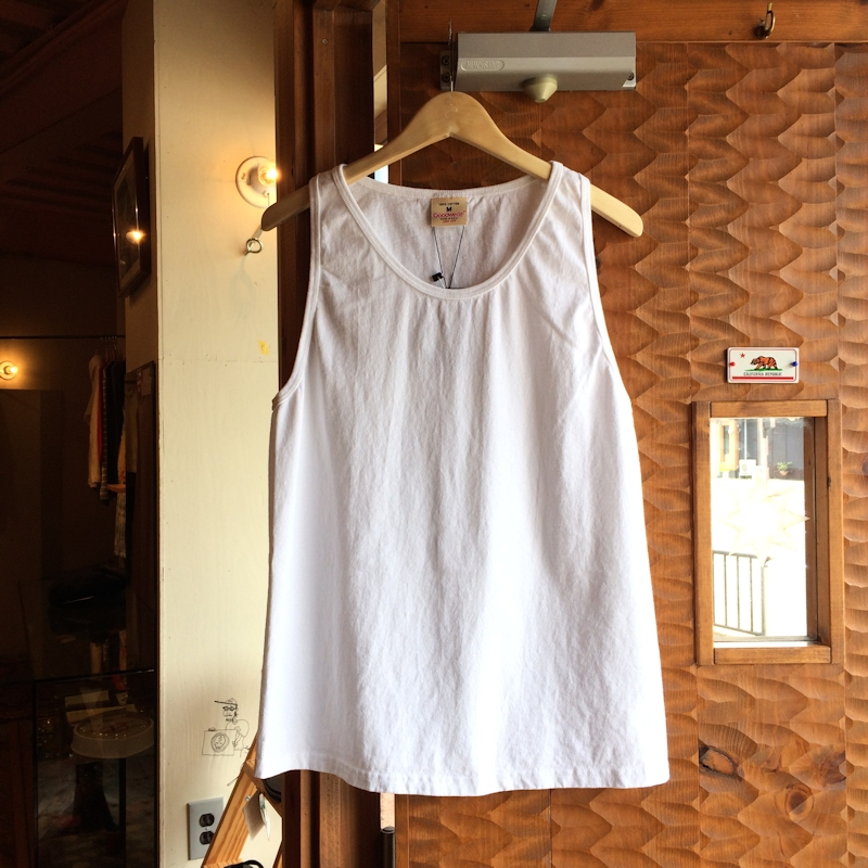 GOOD WEAR TANK TOP WHITE MADE IN USA 通販 FARMHOUSE京都