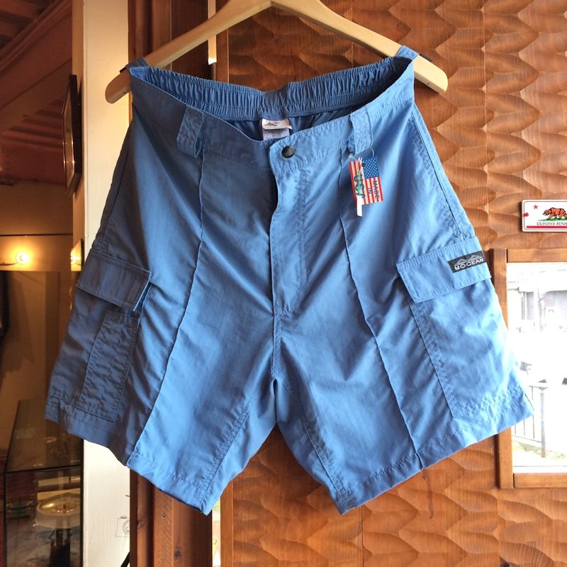 MOCEAN CARGO SHORTS 旧タグ LIGHT BLUE MADE IN USA 通販 FARMHOUSE京都
