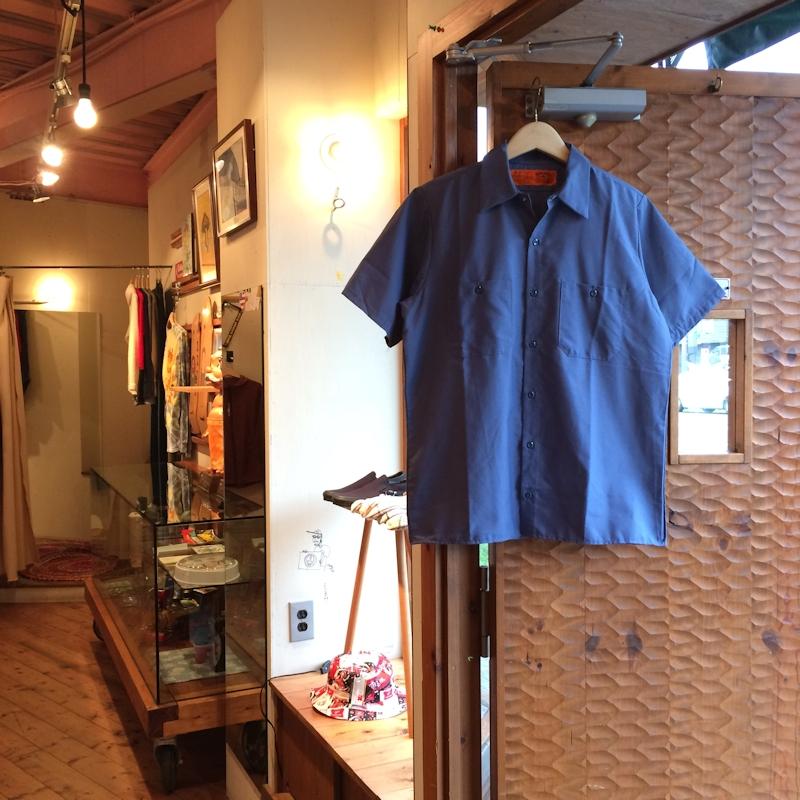 RED KAP S/S WORK SHIRTS POSTMAN BLUE 通販 FARMHOUSE京都