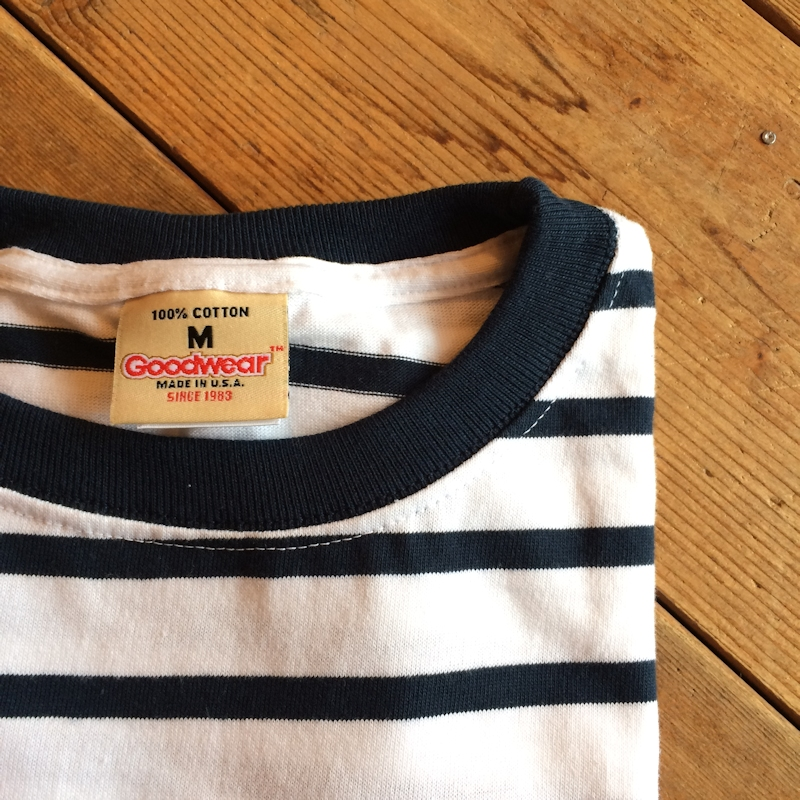 GOOD WEAR BORDER TEE MADE IN USA 通販 FARMHOUSE京都