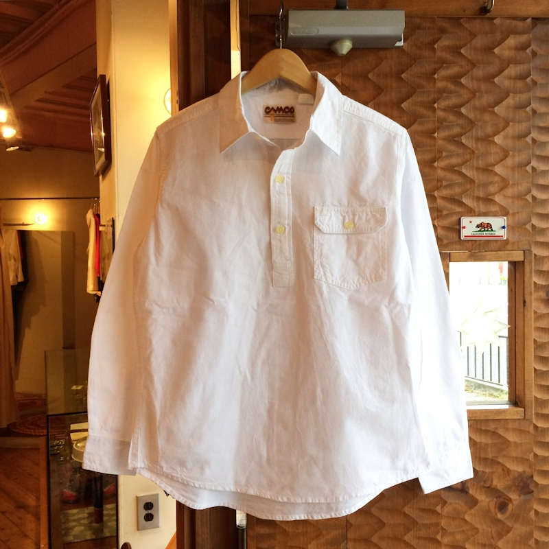 CAMCO PULLOVER NATURAL CHAMBREY SHIRTS 通販 FARMHOUSE京都