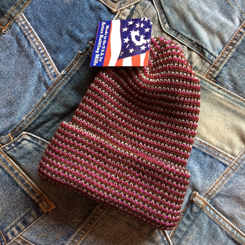 ARTEX KNITTING MILLS TWEED WATCH CAP MADEINUSA 通販 FARMHOUSE京都