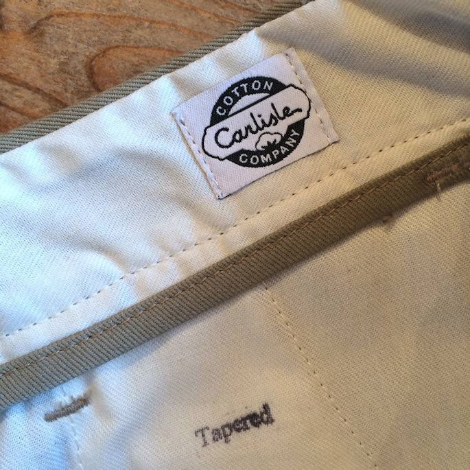 TELLASON TAPERED CHINO MADE IN SANFRANCISCO 通販 FARMHOUSE京都