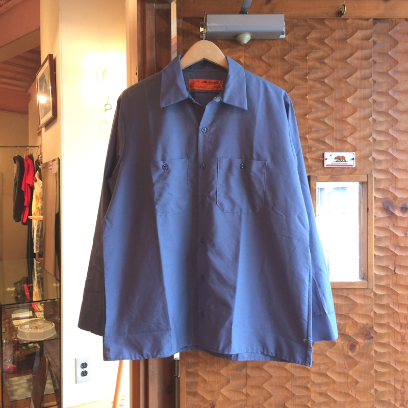 RED KAP WORK SHIRTS POSTMAN BLUE 通販 FARMHOUSE京都