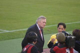 11.05 ナビスコカップでのオシム 画像提供へびこさんdanke!