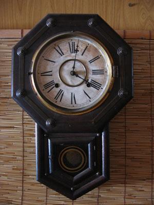 おじいさんの時計。