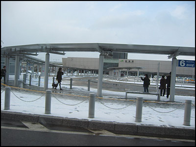 本日の函館駅前その1