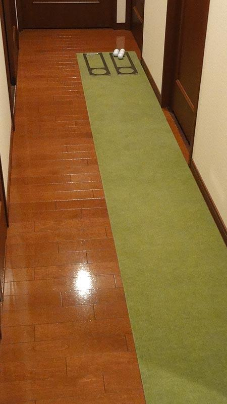 廊下のパターマット