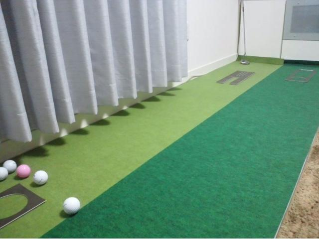 初心者のゴルフ練習