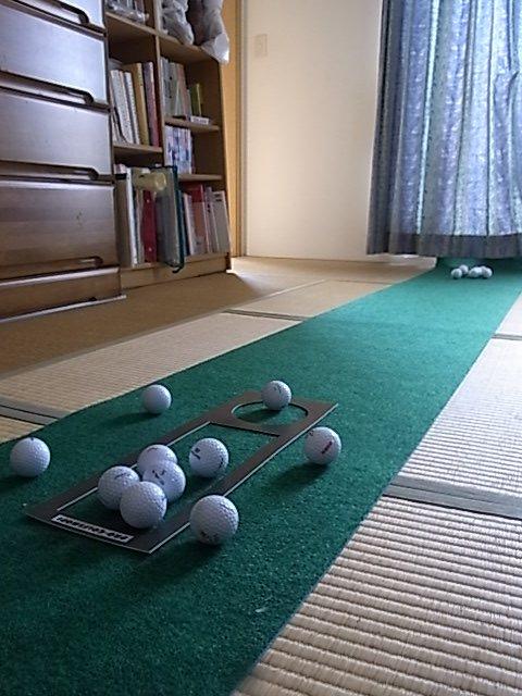 畳の部屋のパターマット