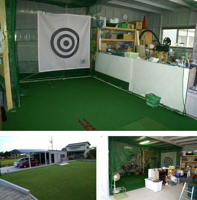 ゴルフ屋内練習場
