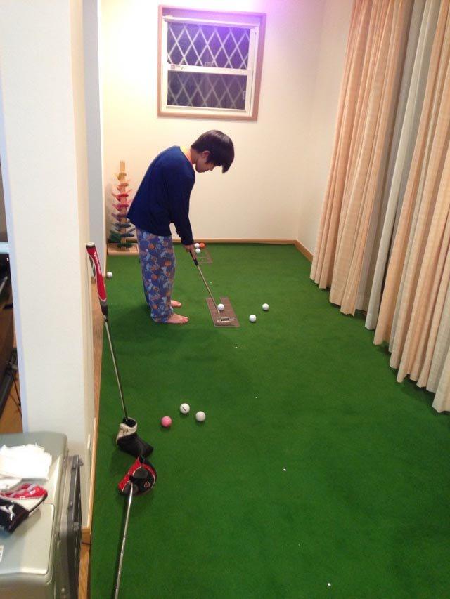 将来はプロゴルファー