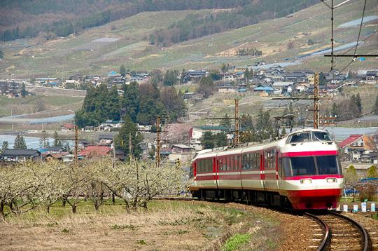 長野電鉄「ゆけむり」