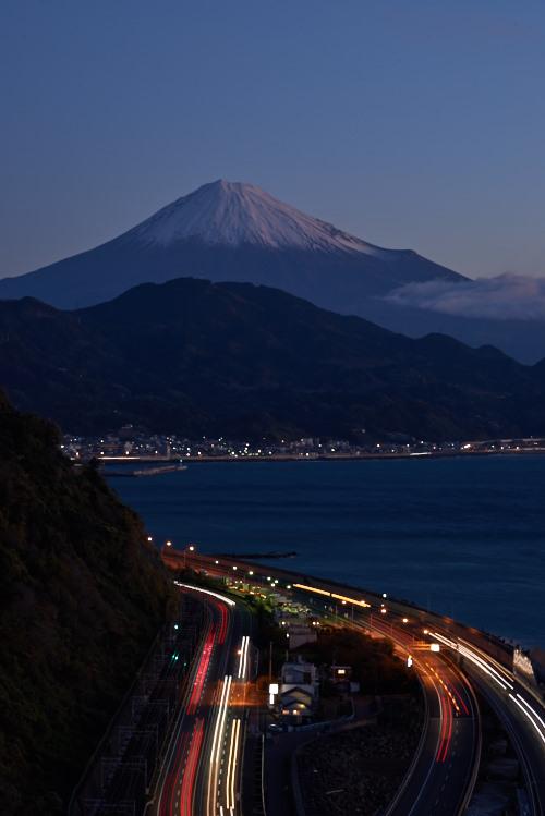 薩埵からの富士山