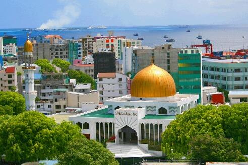 モルジブの首都マレ