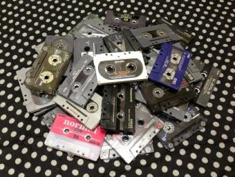 カセットテープ写真館1
