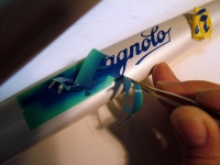 campagnolo logo paint