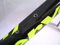 自転車フレーム塗装