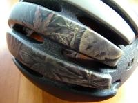 自転車ヘルメットペイント